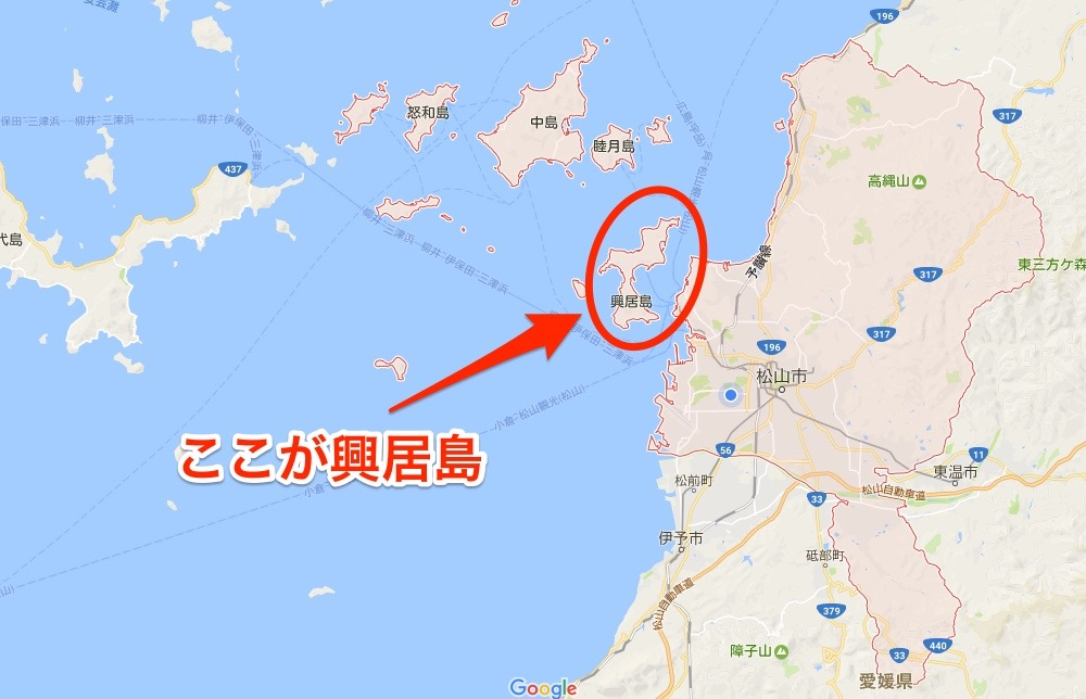 松山市マップ