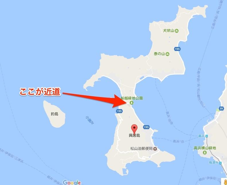 興居島マップ