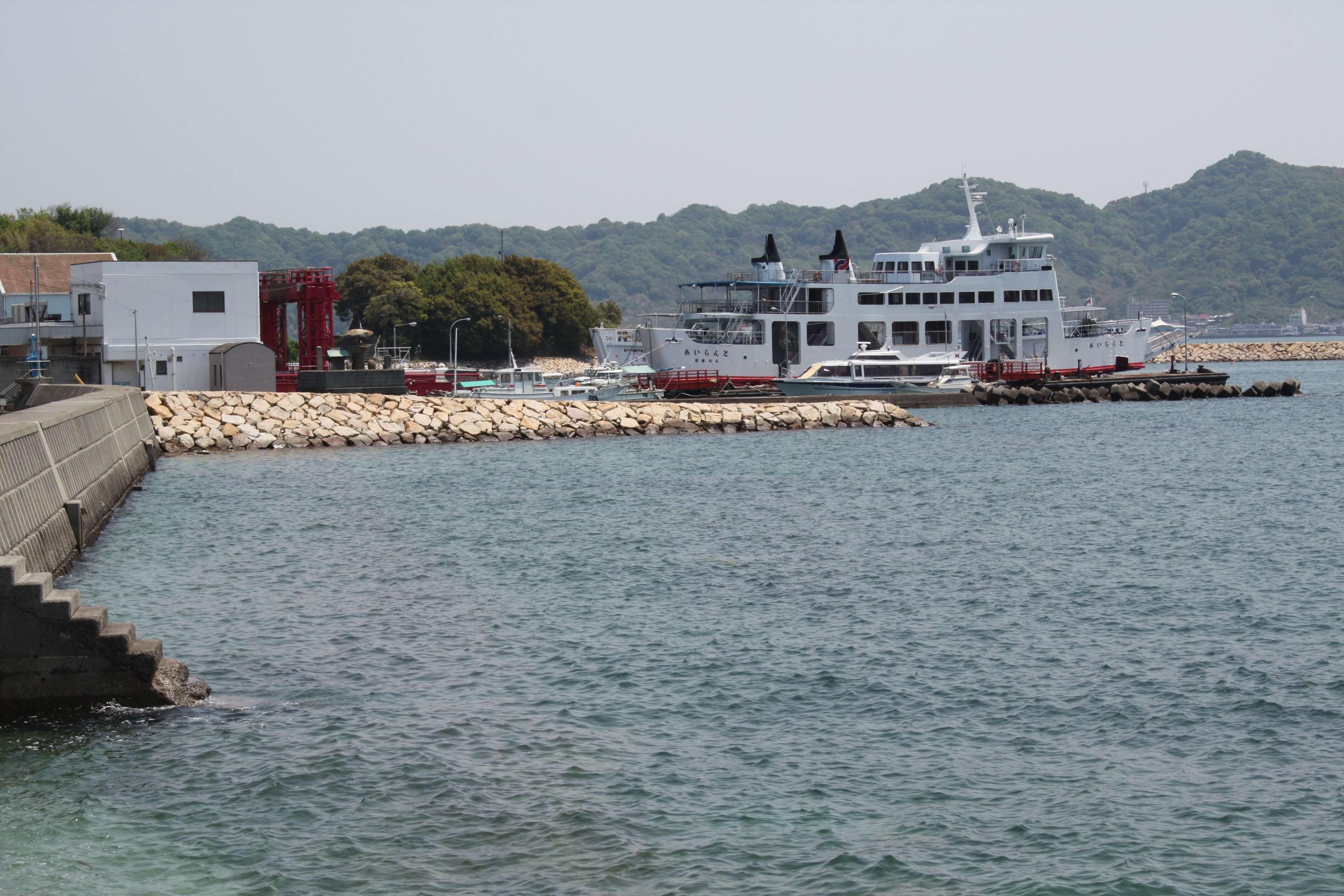 興居島 由良港