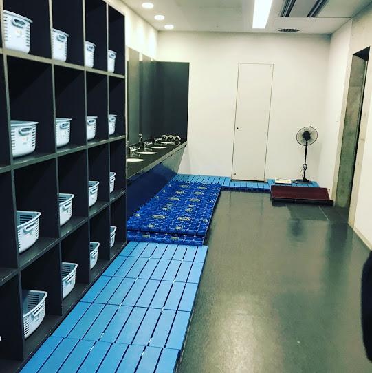 札幌ドームシャワールーム