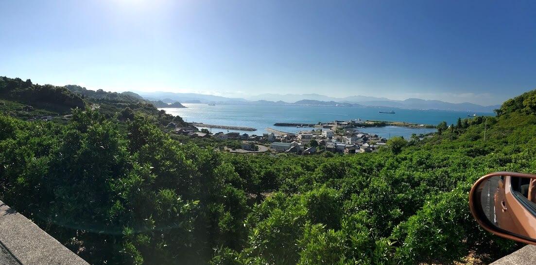 興居島 御手洗漁港