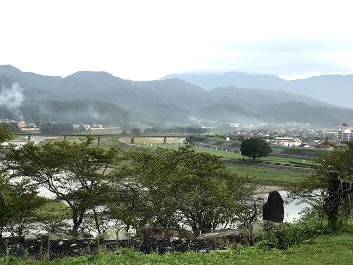 大洲城 景色