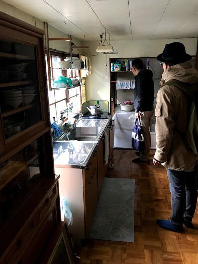 西田邸台所