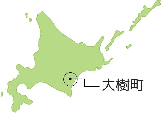 大樹町地図